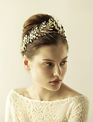 cheap -Imitation Pearl / Alloy Tiaras / Headbands with 1 Wedding / Special Occasion / Anniversary Headpiece