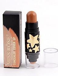 abordables -6 couleurs Baume Correcteur / Contour Bronzeurs Sec / Humide / Mat Correcteur Visage Maquillage Cosmétique ABS