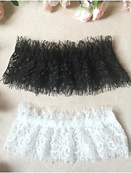cheap -Lace / Cotton Leg Warmers / Wedding Wedding Garter With White Bow / Lace Garters / Others Wedding / Party / Evening