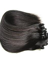 Недорогие -Бразильские волосы Прямой Натуральные волосы 1000 g Человека ткет Волосы Ткет человеческих волос Расширения человеческих волос