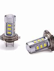 cheap -2pcs H7 Car Light Bulbs 11W SMD 3528 1000lm 13 Headlamp For universal All years