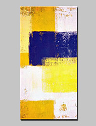 cheap -Oil Painting Hand Painted - Abstract Abstract Modern Stretched Canvas
