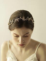 cheap -Imitation Pearl / Rhinestone / Alloy Tiaras / Headbands / Flowers with 1 Wedding / Special Occasion / Anniversary Headpiece