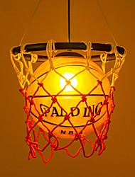 cheap -1-Light 32 cm Matte / Mini Style / Bulb Included Pendant Light Metal Novelty Painted Finishes Chic & Modern 110-120V / 220-240V