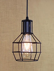 cheap -1-Light 15 cm Mini Style / Bulb Included / Designers Pendant Light Metal Painted Finishes Retro 110-120V / 220-240V