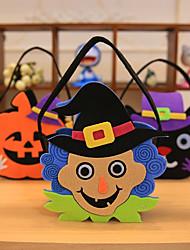 cheap -Pumpkin Smile Bag Child Kids Candy Bag Handbag Halloween Holiday Party Decor 22*15cm