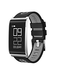 cheap -Smart Bracelet Smartwatch for iOS / Android Heart Rate Monitor / Blood Pressure Measurement / Calories Burned / Long Standby / Water Resistant / Water Proof Pedometer / Call Reminder / Activity