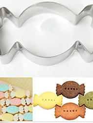 Недорогие -1шт Нержавеющая сталь + категория А (ABS) Нержавеющая сталь Для детской Антипригарное покрытие Инструмент выпечки Торты Печенье Для фруктов Формы для пирожных Инструменты для выпечки