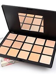 abordables -2 couleurs Set de maquillage Poudre Correcteur / Contour Sec / Mat / Mélange Visage Maquillage Cosmétique ABS
