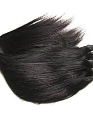Недорогие -Бразильские волосы Прямой Натуральные волосы 400 g Человека ткет Волосы Ткет человеческих волос Расширения человеческих волос
