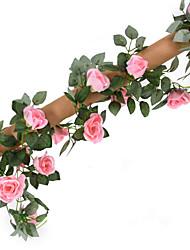 Недорогие -Искусственные Цветы 1 Филиал Свадьба Пастораль Стиль Розы Букеты на стол