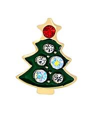 Недорогие -Жен. Синтетический алмаз Броши Дерево жизни Дамы Мода Брошь Бижутерия Зеленый Назначение Рождество градация