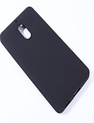 cheap -Case For Nokia Nokia 6 Frosted Back Cover Solid Colored Soft TPU