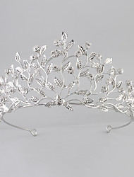 cheap -Crystal / Acrylic / Rhinestone Crown Tiaras with 1 Piece Wedding / New Baby / Housewarming Headpiece