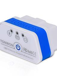 Недорогие -tonwon 2 bt3.0 elm327 obd2 диагностический сканер bluetooth3.0 проверить двигатель автомобиля поддерживают все протоколы obdii для android