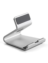 cheap -Desk Universal / Mobile Phone / Tablet Mount Stand Holder Anti-slip Mat Universal / Mobile Phone / Tablet Gravity Type Aluminum Holder