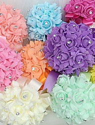 "cheap -Wedding Flowers Bouquets Wedding Foam 8.66""(Approx.22cm)"