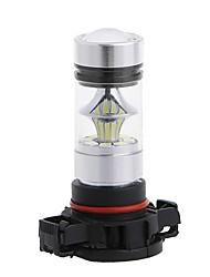 cheap -2pcs H16 Car Light Bulbs 100W SMD LED 8000lm 20 Fog Light For universal All Models All years