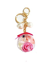 cheap -Toy Car Keychain Key Chain Lovely Dried Flower Kid's Unisex Boys' Girls' Toy Gift