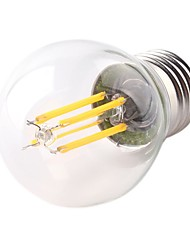 cheap -1pc 4 W LED Filament Bulbs 360 lm E26 / E27 G45 4 LED Beads COB Dimmable LED Light Decorative Warm White 220-240 V / RoHS