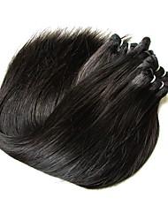 Недорогие -Бразильские волосы Прямой Натуральные волосы 500 g Человека ткет Волосы Ткет человеческих волос Расширения человеческих волос