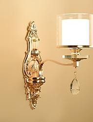 cheap -Crystal Wall Lamps & Sconces Metal Wall Light 220-240V 40 W / E14