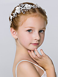 cheap -Crystal / Imitation Pearl Headbands / Flowers / Headwear with Floral 1pc Wedding / Special Occasion / Party / Evening Headpiece