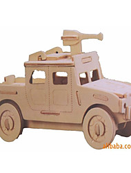 cheap -Toy Car 3D Puzzle Vehicles Military Car Special Designed Wooden Chic & Modern Military Vehicle Kid's Boys' Toy Gift