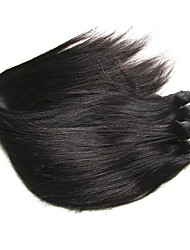 cheap -Unprocessed Human Hair / Virgin Human Hair / Remy Human Hair Hair weave / Remy Weaves For Black Women / 8a Straight Brazilian Hair / Bundles 0.2kg 1 Year / 12 Months Dailywear
