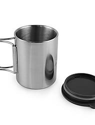 Недорогие -чашка Кофе и чай за Нержавеющая сталь на открытом воздухе Отдых и Туризм Пикник