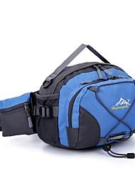 cheap -2 L Waist Bag / Waistpack Fast Dry Wear Resistance Outdoor Hiking Traveling Running Cloth Nylon Black Green Blue