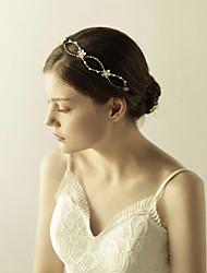 cheap -Imitation Pearl / Rhinestone Tiaras / Headbands / Flowers with 1 Wedding / Special Occasion / Anniversary Headpiece
