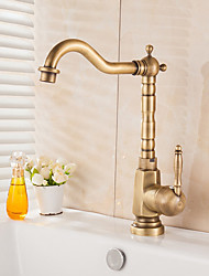 cheap -Kitchen faucet Antique Brass Vessel Antique Kitchen Taps