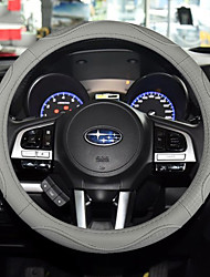 cheap -Universal Steering Wheel Covers Leather 38cm Anti-slip Matte Finish Soft Padding Universal 15 Inch Car Steering Cover Black /Gray / Red / Brown