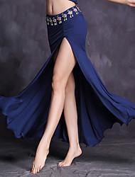 cheap -Belly Dance Bottoms Women's Performance Modal Ruffles Natural Skirts