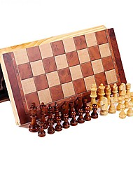 cheap -Chess Game Chess Stress Reliever Wooden 1 pcs Kid's Unisex Toy Gift