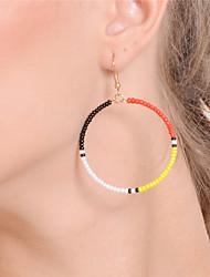 cheap -Women's Drop Earrings Hoop Earrings Earrings Jewelry Rainbow For Party Daily