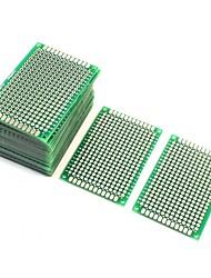 Недорогие -10шт двухсторонний протопобор прототипирования платы для ПК 4 см х 6 см