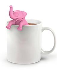 Недорогие -чай для заварки слона силиконовый ситечко для чая вкладыш травяной фильтр специй