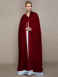 abordables -Fausse Fourrure Mariage / Fête / Soirée Etoles de Femme Avec Bonnet / Lacet Capes