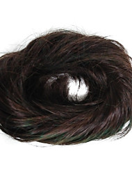 cheap -chignons Classic Hair Bun Synthetic Hair Hair Piece Hair Extension Classic Daily Brown