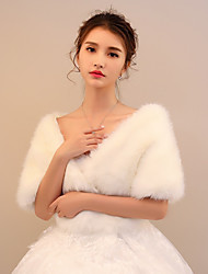 cheap -Faux Fur Wedding / Party / Evening Women's Wrap With Shawls