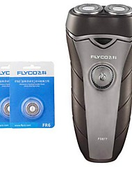 cheap -FLYCO FS877 Electric Shaver Razor Two Spare Heads 100240V Washable head
