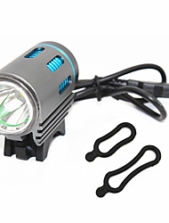 cheap -ANOWL Bike Light 1200 lm LED XM-L2 U2 1 Emitters 3 Mode Portable Travel Size Wearproof Cycling / Bike