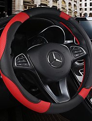 cheap -Steering Wheel Covers Leather Breathable Anti Slip PU Leather Steering Wheel Cover 38cm Beige / Black / Brown / Black / Red For Chevrole All years