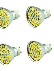 cheap -4pcs 5 W LED Spotlight 800 lm 55 LED Beads SMD 5730 Decorative Warm White Cold White 12 V