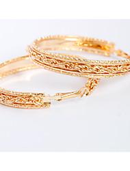 cheap -Women's Drop Earrings Hoop Earrings Personalized Earrings Jewelry Gold For Wedding Party Daily