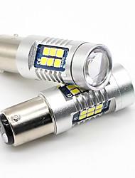 cheap -SO.K 2pcs 1157 Truck / Car Light Bulbs 7 W SMD 3030 800 lm Tail Light