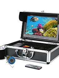 cheap -10 Inch Color Monitor 30M HD 1000tvl Underwater Fishing Video Camera Kit 12 PCS Infrared Lamp Lights