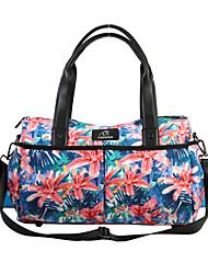 cheap -FODOKO 26 L Yoga Mat Bag - Yoga, Pilates, Fitness Wearable Leather, Nylon Violet Pink